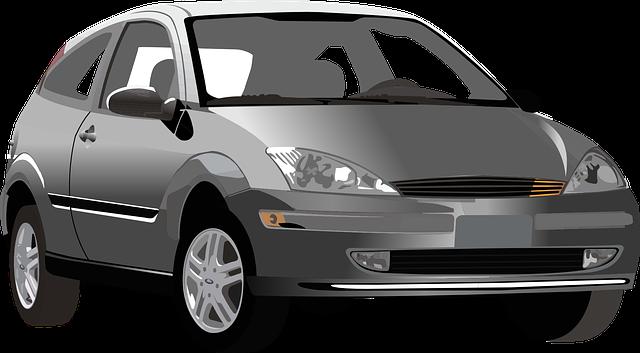 Auto vektorovou grafikou