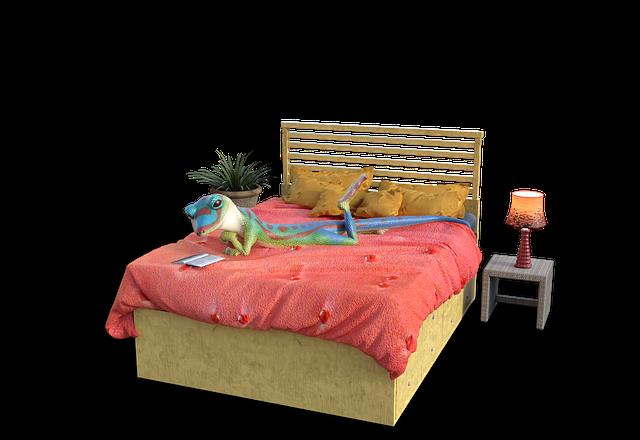 postel pro žábu