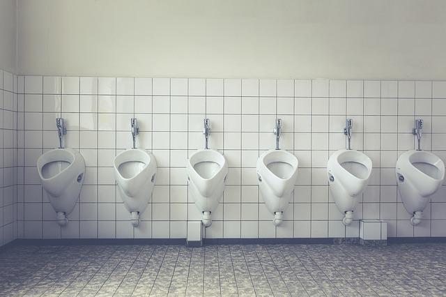 veřejné wc pro muže