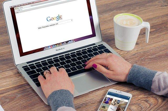 Vyhledávání v Google