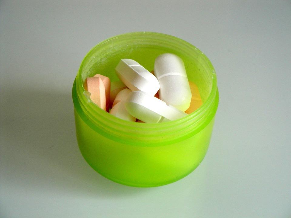 krabička s léky